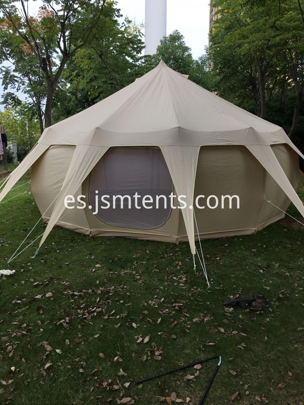 camping 6-10 person lotus tent