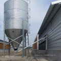 Galvanized Silo with Automatic Feeding Equipments