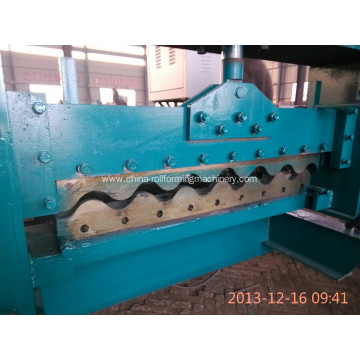 Colour coated steel corrugated roof tile Making machinery