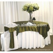 Polyester chair cover,banquet chair cover, satin sash