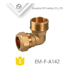 ЭМ-Ф-А142 Женский быстрый разъем латунь локоть трубы фитинги для ПВХ трубы