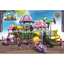 A001-1 Parque de diversões de design de girassol brinquedos de plástico parque infantil ao ar livre