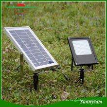 Durable 120W 15W ahorro de energía IP65 impermeable al aire libre jardín seguridad luz Solar Power Floodlight para camino, césped, paisaje