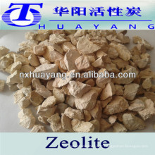 Zeólito natural de 2-4mm para tratamento de água