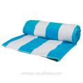 100% coton rayé serviettes de bain piscine serviettes de plage BtT-206 Chine Fournisseur