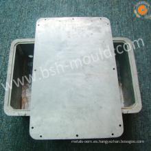 Motor de ventilador de radiador denso de fundición a presión a troquel de aleación de aluminio