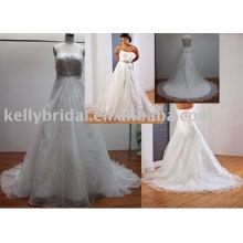 2011 mais recente design estilo de venda quente vestido de noiva, vestido de noiva