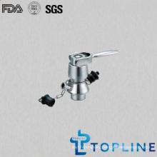 Stainless Steel Sanitary Aseptic Sample Valve