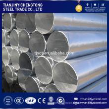 300mm diameter steel pipe , flexible exhaust pipe galvanized pre-galvanized steel pipe