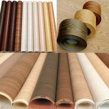 Rollo de vinilo de madera autoadhesivo impermeable del PVC
