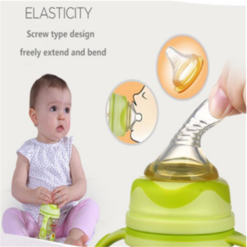 Bayi Wide Milk Teat Enhanced Silicone Nipple