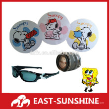 full color printed microfiber sunglasses cleaning cloth,microfiber lens cloth cutting