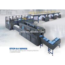 Máquina de corte y embalaje de papel A4