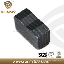 Multi-Blade-Diamant-Segment für Granit-Schneiden