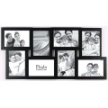 8 Opening Wooden Collage Photo Frame