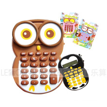 Owl-Shaped Gift Calculator (LC664)