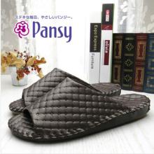 Affaires de pantoufles Style PVC cuir homme pantoufles d'intérieur haut de gamme Pansy Cozy pantoufles sans Slip hommes