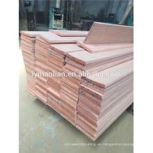 paneles de madera de cerezo reconstituidos / madera aserrada artificial de madera de cerezo