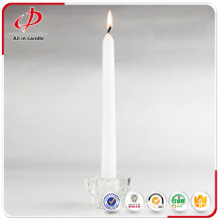 9-100g Stumpenkerze White Stick Candle