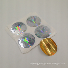 high quality self adhesive laser printing custom hologram sticker factory