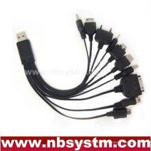 10 en 1 cargador móvil multifunción USB