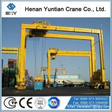 Ampliamente utilizado contenedor de elevación 30ton ~ 50ton RTG grúa de contenedores