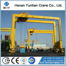 Widely used lifting container 30ton ~ 50ton RTG container crane