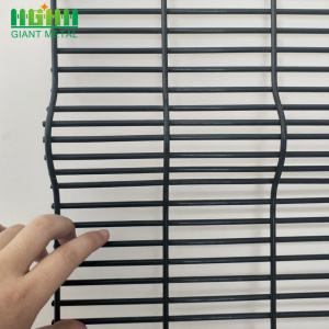 High Security Welded Galvanized 358 Wire Mesh Fence