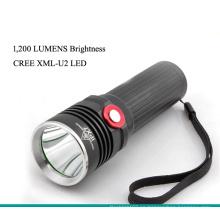 1200 lúmenes linterna de la búsqueda del LED de Xml U2