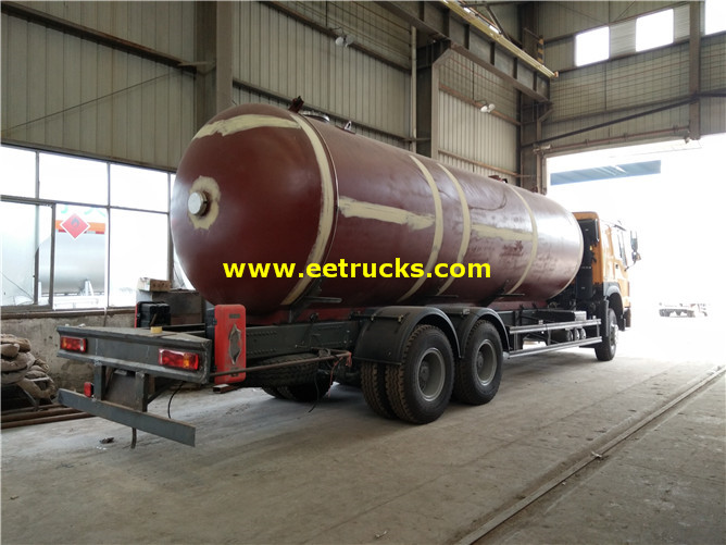 25000 Litres Propane Gas Dispenser Trucks