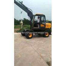 Pelle hydraulique bon marché de roue de la Chine avec le grappin tournant