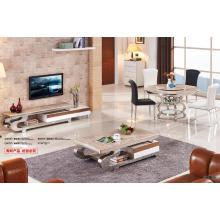 Home Furniture Fashion Table basse en acier inoxydable