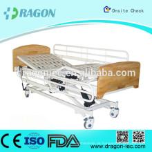DW-BD136 Krankenhausbett ICU Krankenhausbett elektrische Pflegeheimbetten mit 3 Funktionen für Verkauf