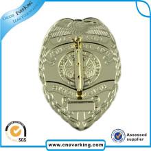 Золотой Военный Значок Шерифа Безопасности