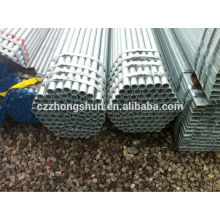 China galvanized steel pipe /galvanized seamless pipe/ERW hot galvanized pipe/BS1387-1985/Q235/SS400