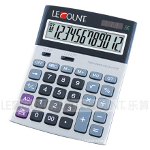 12 Digits Dual Power Classic Office Calculator for Business (LC22611)