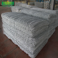 Kostenlose Probe Doppel Twisted Woven Galvanized Gabion Box