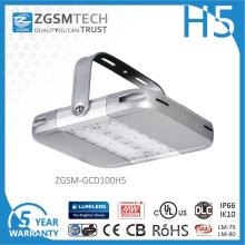 Корпус из анодированного алюминия 100W вело высокий свет залива с IP66