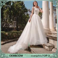 Puffy damas vestido de novia fotos de muestra real de la boda muestra venta de vestidos