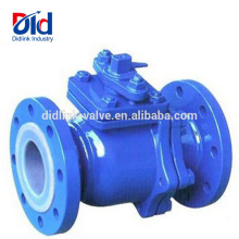 Wiki Sanitary 2pc Dn50 Pn16 Flanged Manual Operated Rubber Inline Ball Valve Plumbing