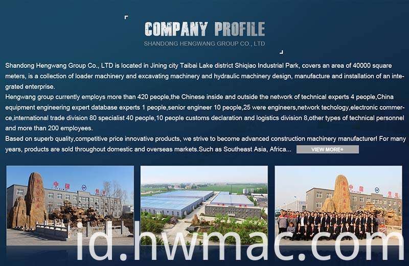 wheel loader company profile