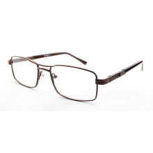 Nouveau Moins économique Ligne de base Homme métal optique cadres / lunettes en métal double pont