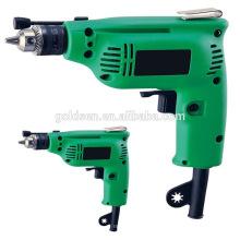 India Ventas calientes 230w 6.5mm / 10m m Agujero de la energía que perfora la máquina de taladro de impacto Mini taladro de mano eléctrico portable