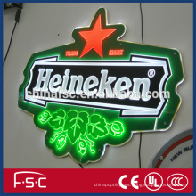 Illuminating bottle display led display sale promotion