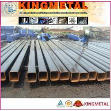 Tubulações quadradas de aço suave estrutural de ERW