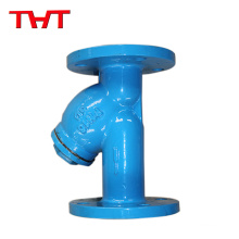 stainless steel y-type strainer drain valve for oil
