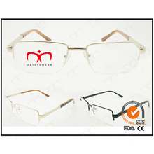 Neue Art und Weise Eyewear Rahmen-Metall optischer Rahmen (WFM501007)