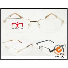 Lunette de mode nouvelle lunette cadre métallique optique (WFM501007)