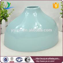 Cheap Hight Grade Light Blue Ceramic Vase