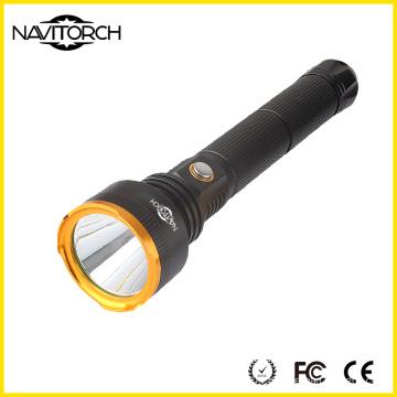 Dual 26650 Batteries Twice Run Time High Brightness 860 Lumens Aluminum Flashlight (NK-2622)